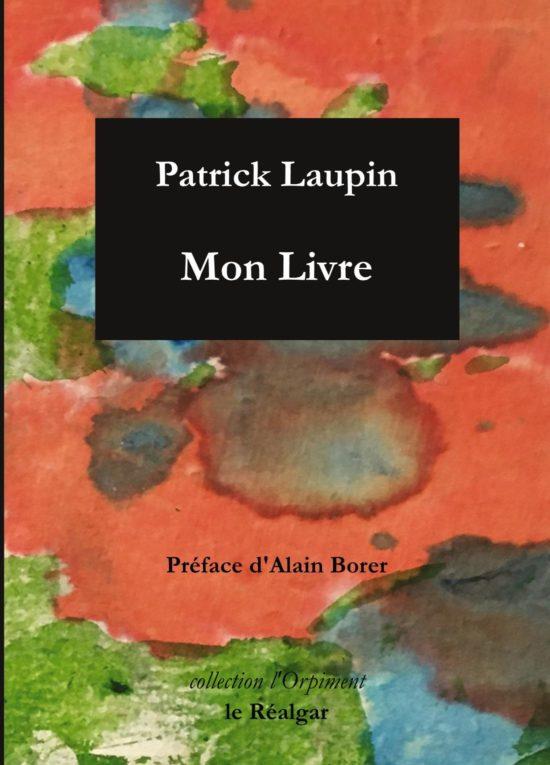 1 ère couv Patrick Laupin_Mon livre